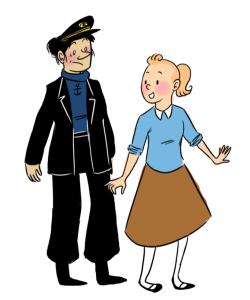 Haddock Tintin Rule 63